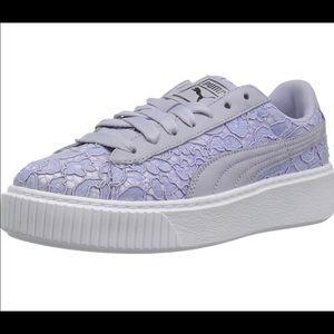 Puma Basket Platform lace-up lace sneakers